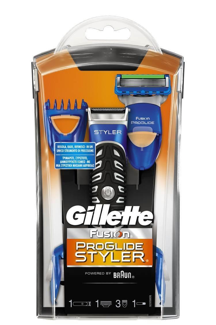 Tondeuse Rasoir Gillette Fusion Proglide Styler 3 en 1