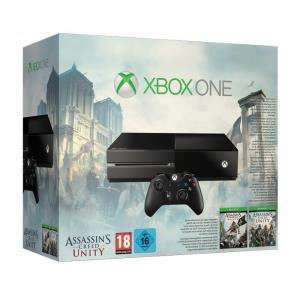 Console Xbox One + Assassin's Creed Black Flag + Assassin's Creed Unity