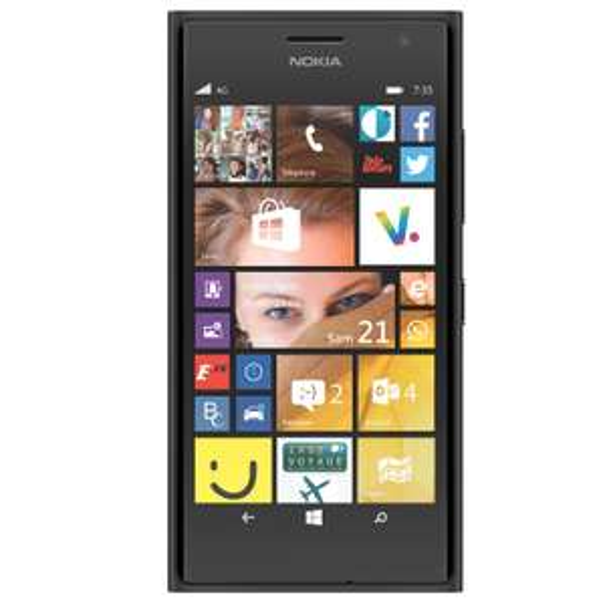 Smartphone Nokia Lumia 735 4G(+ Carte de 30€ valable sur le Windows Store)
