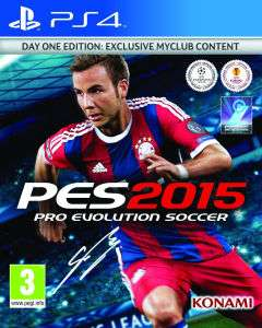 Jeu PES 2015 Day One Edition sur PS4/XBOX One