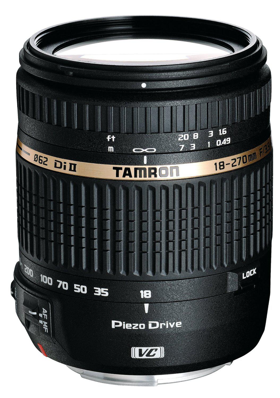 Objectif Tamron 18-270mm F/3,5-6,3 Di II VC PZD pour monture Canon