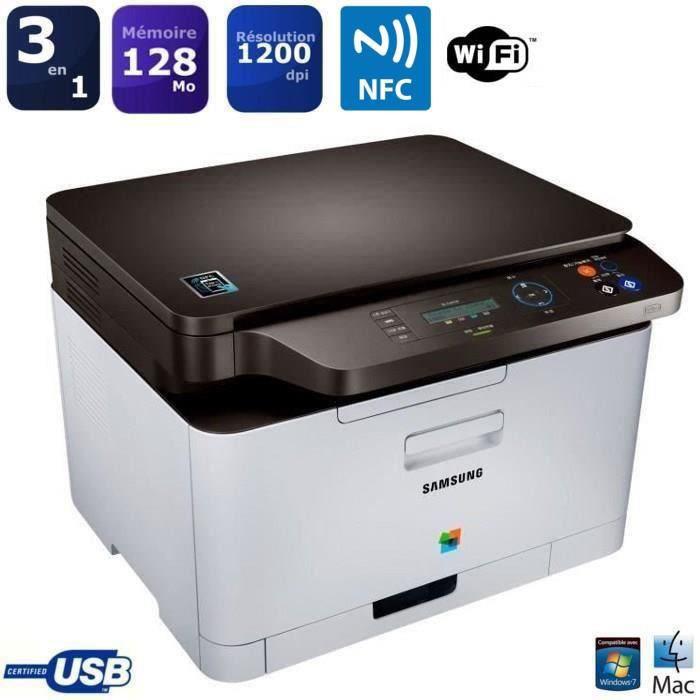 Imprimante Samsung SL-C467W Laser Couleur Laser Multifonction Wifi  (ODR 30 EUR )