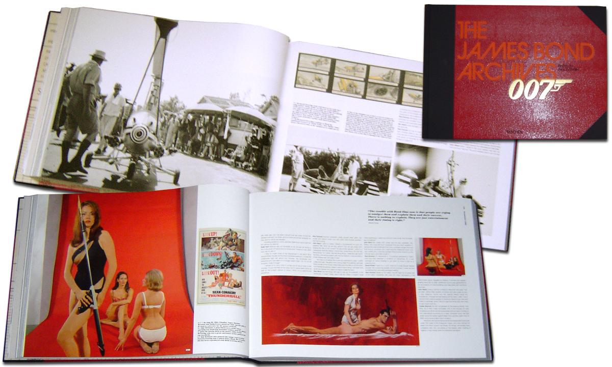 Livre Anglais  : Les Archives de James Bond