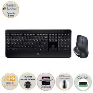 Pack Logitech clavier souris sans fil MX800