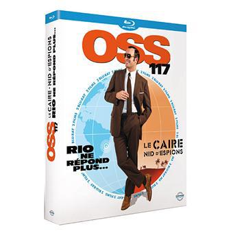 Coffret Blu-Ray OSS 117