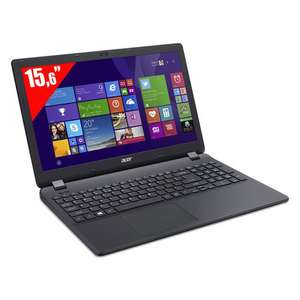 "Pc portable 15.6"" Acer Aspire ES1-512-C6P9 Intel Celeron N2840 - HDD 1 To - RAM 4 Go - Win 8.1 - Noir"