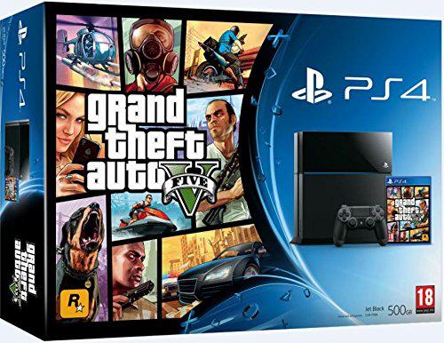 [Précommande] Bundle Sony PlayStation 4 (PS4) 500 Go Noire + GTA V ou PS4 Noire/Blanche 500 Go + Far Cry 4