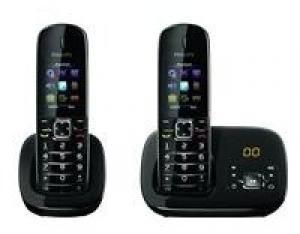 Téléphone sans fil PHILIPS CD6852B/FR Duo - Reconditionné