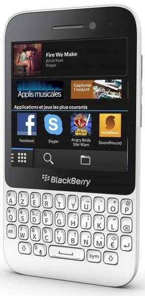 Smartphone BlackBerry Q5 (sans abonnement) - Blanc, Rouge ou Noir