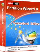 Logiciel MiniTool Partition Wizard Professional Edition gratuit