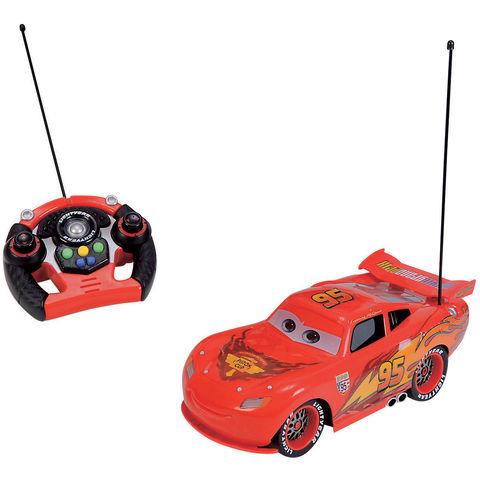 Voiture radiocommandé Cars Lightning Mcqueen - 34cm (+ 24€97 en bon d'achat)