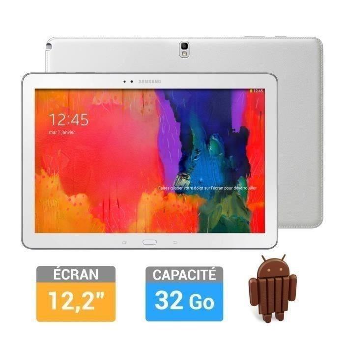 "Tablette Samsung Galaxy Note Pro 12.2"" Blanc 32 Go"
