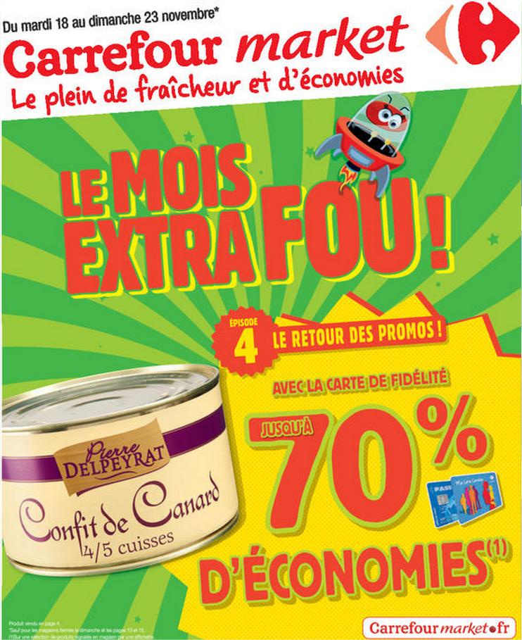 "Optimisations ""Le Mois Extra Fou"""