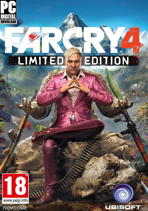 Far Cry 4 - Limited Edition dématérialisé sur PC