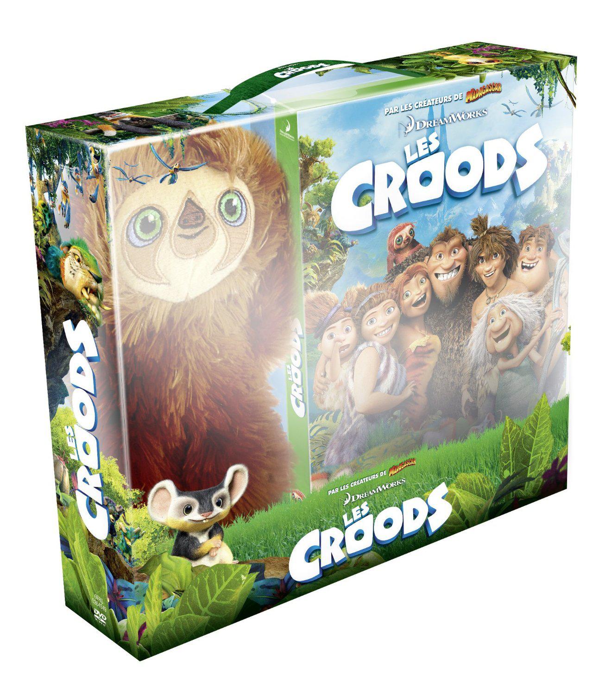 Coffret DVD Les Croods + Peluche