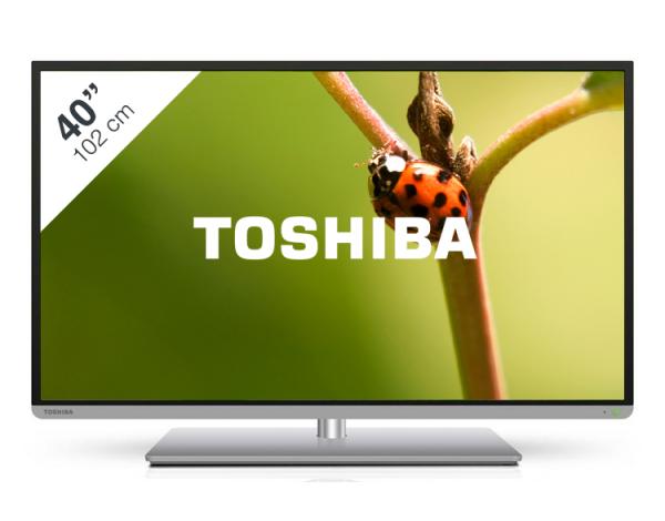 """TV 40"""" Toshiba 40L5435DG 3D 400 Hz CMR (Avec ODR de 50€)"""