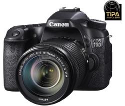 Appareil photo reflex Canon EOS 70D + Objectif 18-135mm IS STM