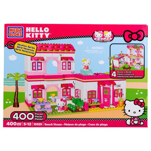 Jouet Megabloks Maison Helly Kitty