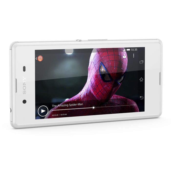 Smartphone Sony Xperia E3 - Blanc