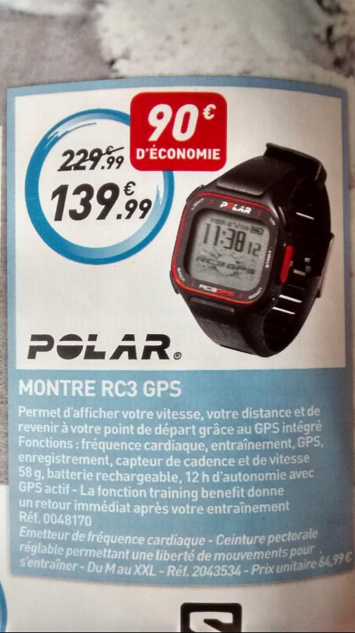 Montre Running Polar RC3 GPS