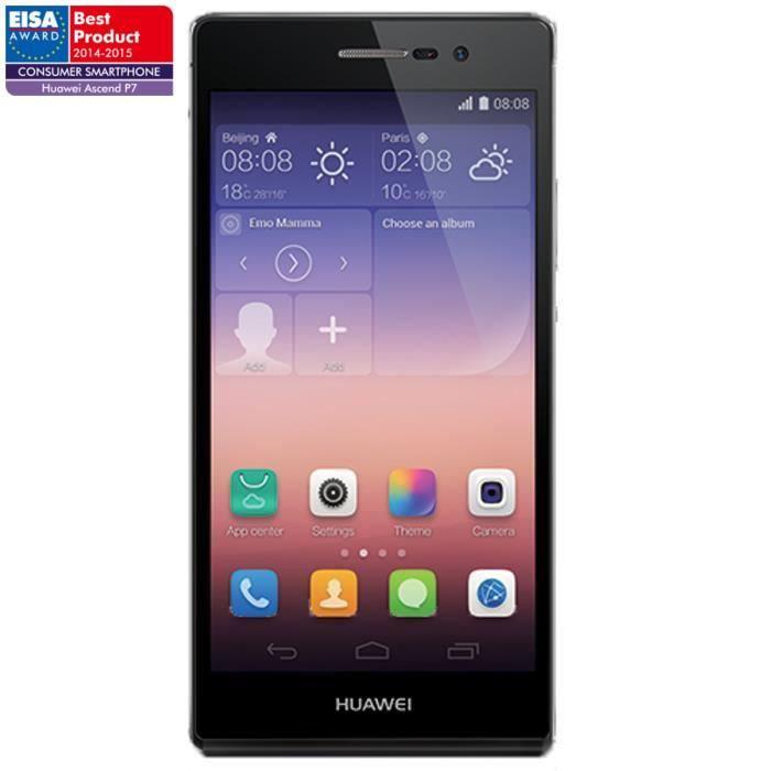 Smartphone Huawei Ascend P7 (avec ODR 50€)