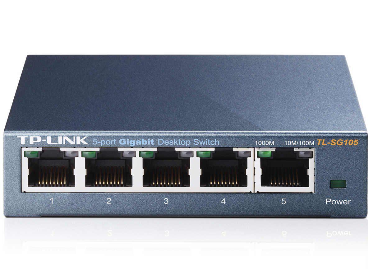 Switch TP-Link TL-SG105 - 5 ports Gigabit