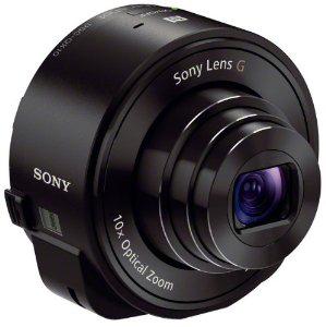 Appareil Photo Numérique Clipsé 16 Mpix Zoom Optique 10x Wifi/NFC Noir Sony DSC-QX10B