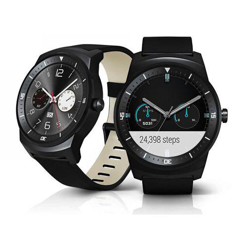 Montre connectée LG  G Watch R - Noir