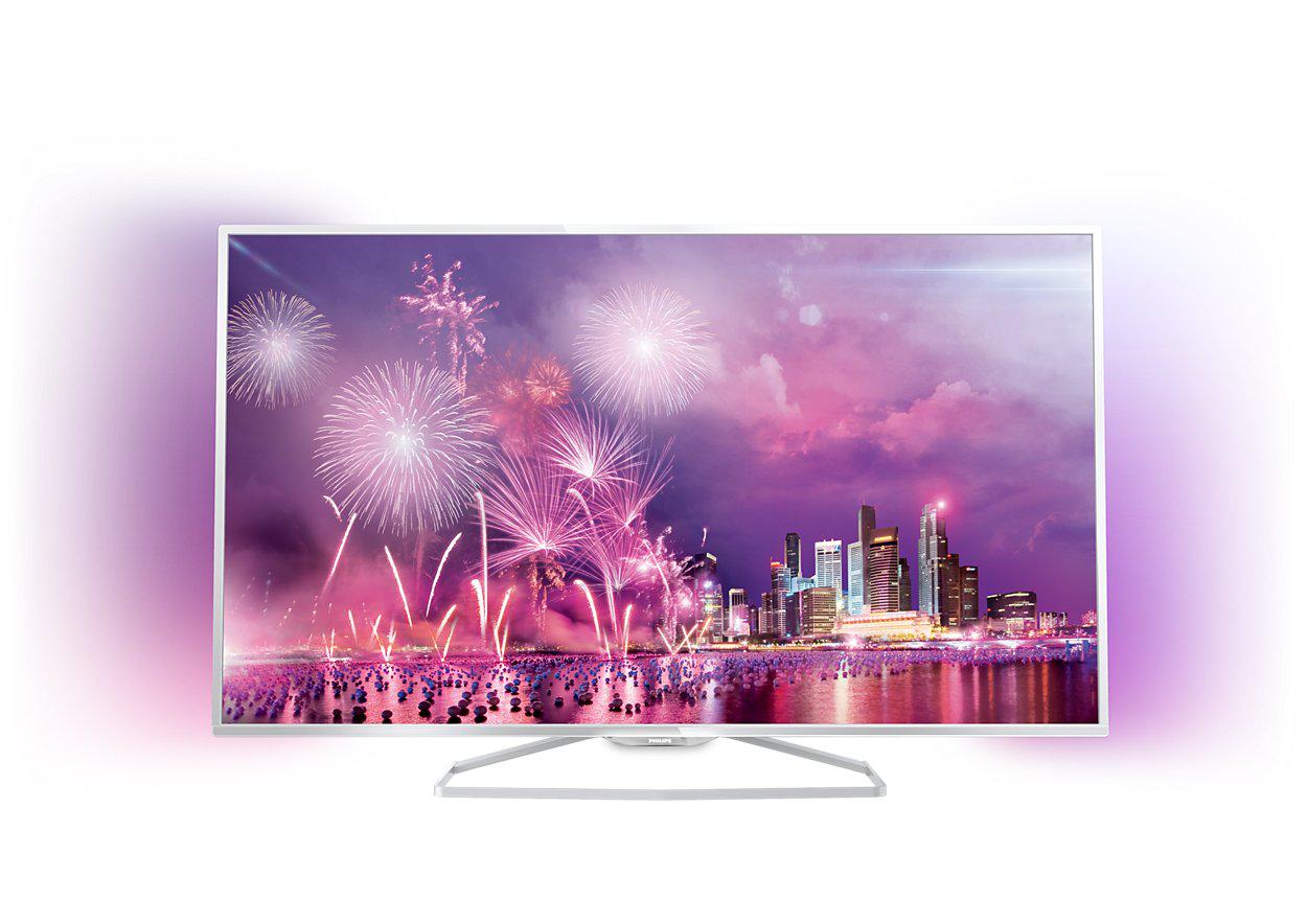 """[Offre adhérents] TV 48"""" Philips 48PFK6719 3D + Lecteur Blu-ray Philips BDP3490 3D Noir"""