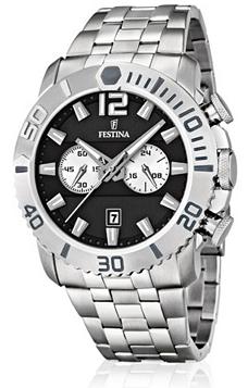 Sélection de montres Festina en promotion - Ex : Festina Chronographe F16613-4
