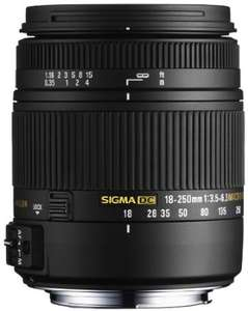 Objectif Sigma Macro 18-250 mm F3,5-6,3 DC OS HSM - Monture Nikon