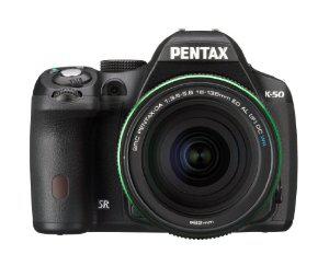 Appareil photo Reflex Pentax K50 16 Mpix + Objectif DA 18-135 Noir (avec ODR 50 €)
