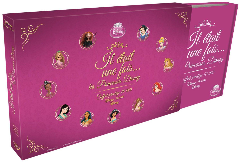 [Précommande] Coffret prestige 10 Dvd Princesses Disney