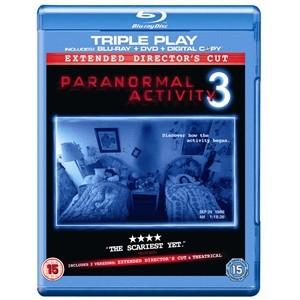Blu-Ray - Paranormal activity version longue - triple PLAY (BR, DVD et copie digital) - version FR