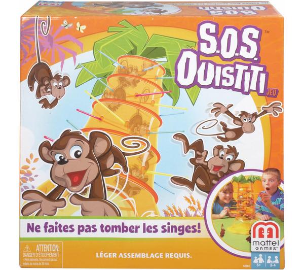 2 jeux de société SOS Ouistiti (Après ODR de 20€ et bon Groupon de 10€)