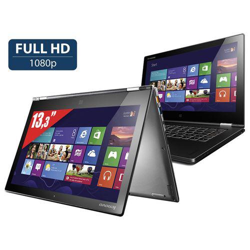 """PC portable 13.3"""" Lenovo Yoga 2 - Core i7 4510U - Windows 8.1 - 4 Go RAM - SSD 256 Go"""