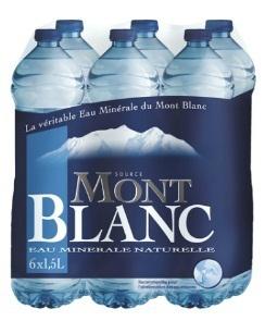 2 packs de 6 bouteilles d'eau Mont Blanc à 1.12€ (avec 50% sur la carte Waaoh), soit le pack