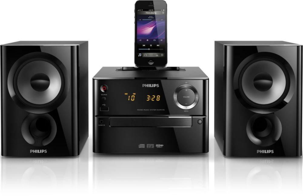 Micro chaîne Philips DCM1170/12 (Dock Lightning iPhone/iPod)