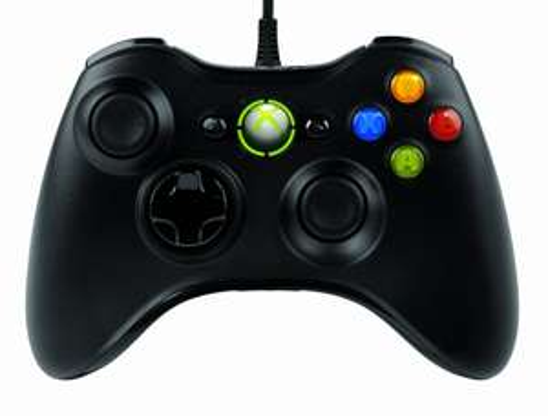 Microsoft Manette filaire pour Xbox 360 / PC Noir (avec ODR 10€)