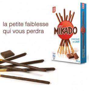 Mikado Chocolat au Lait 100% Remboursé