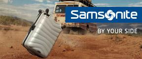 50% de réduction immédiate sur le deuxième article Samsonite