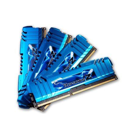 Memoire PC - G.Skill Ripjaws Z Series DDR3 - 16 Go (4 x 4 Go) - 1866 MHz - CL8