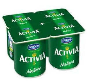 Pack de 4 yaourts ACTIVIA gratuit : 1€ de réduction immédiate + 0.4€ sur votre carte fidélité