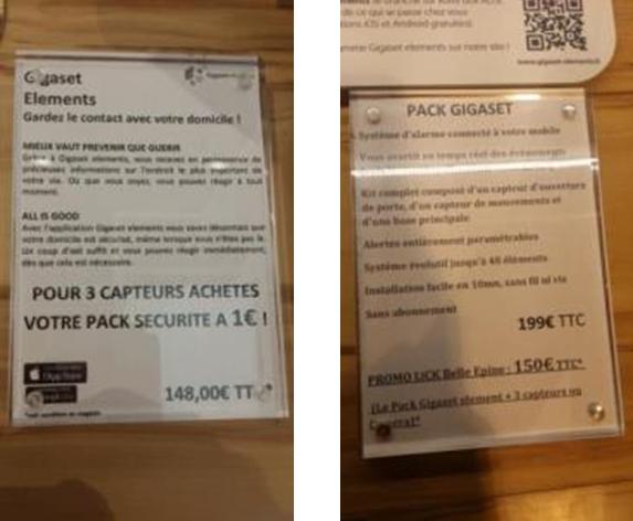 Système de surveillance : Pour l'achat d'une Caméra ou de 3 Capteurs Gigaset elements + le pack sécurité = 149€ au lieu de 348€