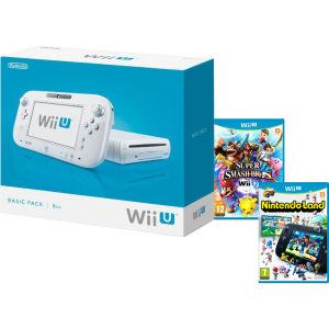 Précommande : Console Nintendo Wii U 8Go - Super Smash Bros. + Nintendo Land
