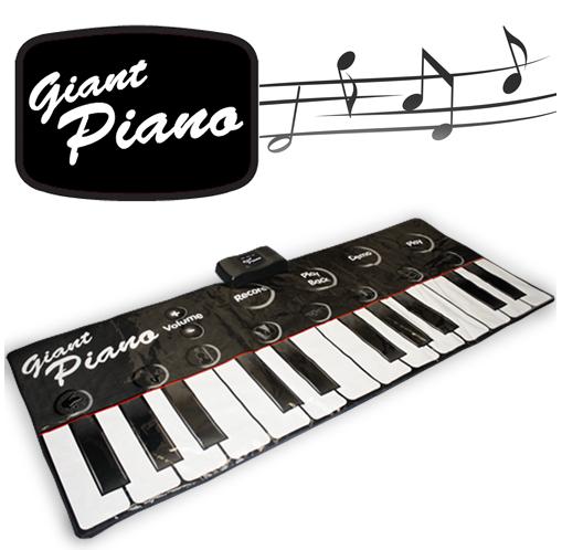 Tapis Piano géant pour enfant