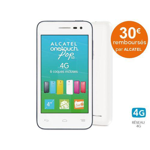 Smartphone Alcatel One Touch Pop S3 4G (Avec ODR de 30€)