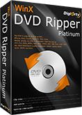 Logiciel d'extraction et d'encodage de DVD WinX DVD Ripper Platinum gratuit (au lieu de 45€ ~)