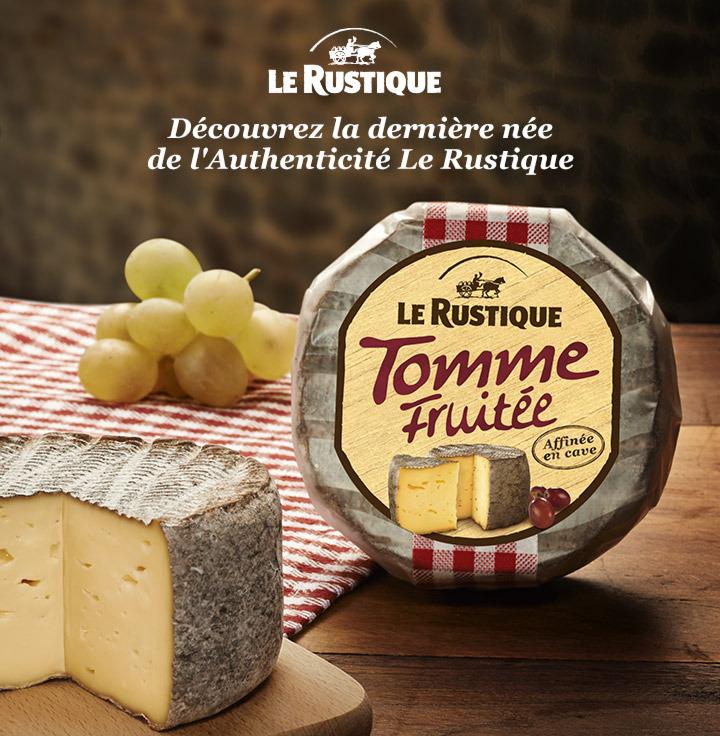 Tomme fruitée Le Rustique (via shopmium et BDR)
