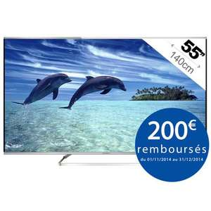 "TV 55"" Panasonic TX-55AX630E - Smart TV - UHD  (ODR 200€)"
